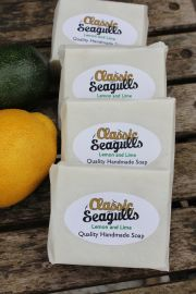 Classic Seagulls Handmade Soap - Lemon and Lime