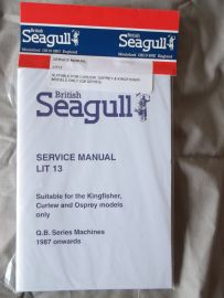 Service Manual for Curlew, Osprey and Kingfisher Models