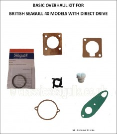 40 Model Overhaul Kit Direct Drive