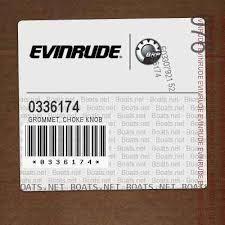Evinrude 0336174 GROMMET, Choke knob