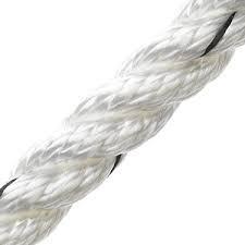 Marlow Dockline Mooring Rope - White 10M