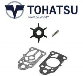 Tohatsu Outboard Water Pump Impeller Service Kit 2hp/2.5hp/3.5hp 369-65021-1