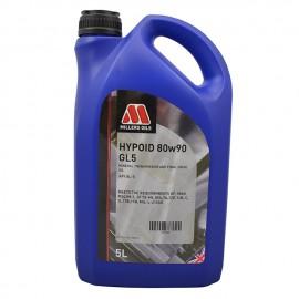 Millers Oils Hypoid 80w-90 GL5 Gear Oil - 5 Litre