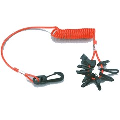 Lanyard Kill Cord For Outboard Includes 7 Unique Keys