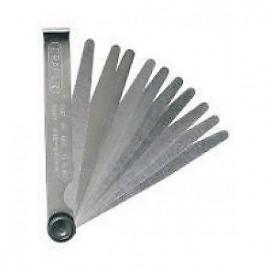 Draper - 10 Blade Feeler Gauge - Metric