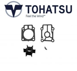 Tohatsu Outboard Water Pump Impeller Service Kit 25hp/30hp 345-65021-0